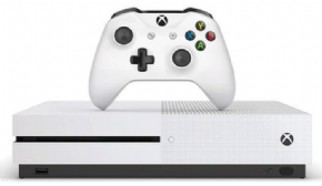 Foto Microsoft XBOX ONE S 500GB Bundle Halo (Seminovo)