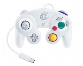 Foto Controle GameCube Super Smash Bros Edtion - Branco (Seminovo)