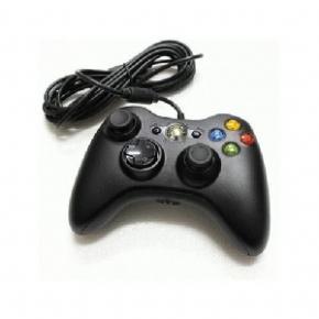 Foto Controle com Fio Original Microsoft Preto USB XBOX 360