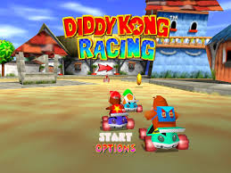 Foto Diddy Kong Racing (Seminovo) Nintendo 64