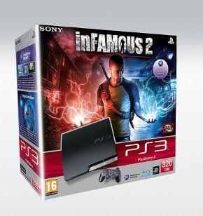 Foto Playstation 3 HD 320GB Bundle Infamous + 3 Anos Garantia ZG!