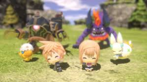 Foto World of Final Fantasy (Seminovo) PS4