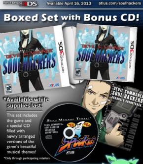 Foto Shin Megami Tensei Devil Summoner Soul Hackers 3DS