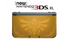Foto New Nintendo 3DS XL Hyrule Edition Gold + 08 Jogos + 3 Anos de Garantia ZG! (Seminovo)