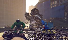 Foto LEGO Marvel Super Heroes (Seminovo) Xbox 360