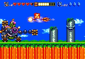 Foto Sparkster (Seminovo) Mega Drive