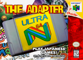 Foto Adaptador Ultra 64 (Seminovo) Nintendo 64