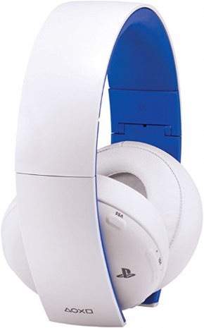 Foto Headset 7.1 Gold Branco SONY