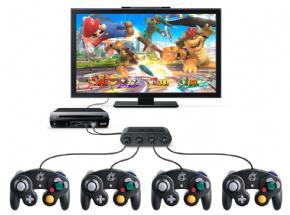 Foto GameCube Controller Adapter Wii U e PC