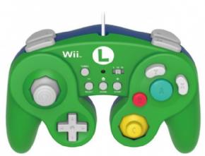 Foto Controle GameCube Batle Pad Super Mario - Luigi Wii U