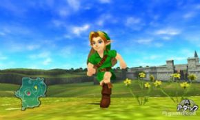 Foto Legend of Zelda: Ocarina of Time 3D (Seminovo) 3DS