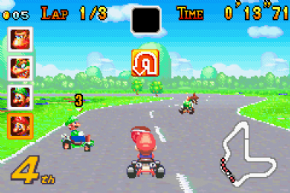 Foto Mario Kart Super Circuit (Seminovo) GameBoy Advance