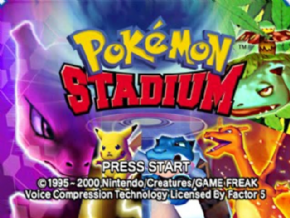 Foto Pokemon Stadium (Seminovo) Nintendo 64