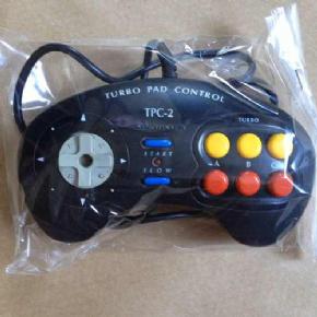 Foto Controle Original Dynavision Turbo Pad Dynacom Mega Drive  (Seminovo)