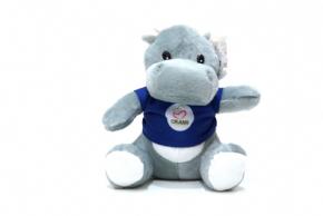 Foto Bichos de Pelúcia - Hipopótamo - Ajude e Concorra!