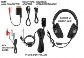 Foto Headset Tritton Ax 120 - Xbox 360  (Seminovo)