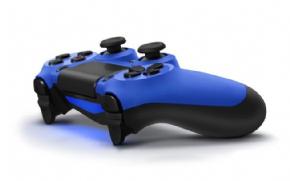 Foto Controle Sony Playstation 4 - Dual Shock 4 - Azul - Seminovo