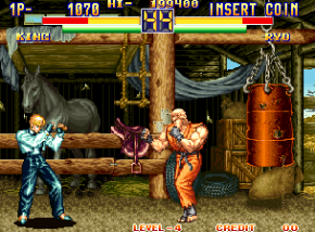Foto Art of Fightning Neo Geo AES