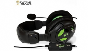 Foto Xbox 360/PC - Headset C/ Fio Ear Force X12 Turtle Beach  (Seminovo)