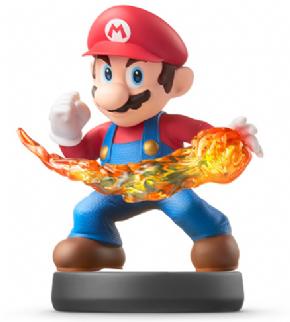 Foto Mario Smash Bros - amiibo - Seminovo