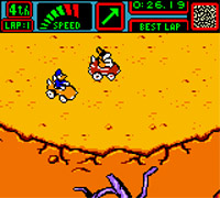 Foto Mickey Mouse Speedway (Seminovo) GameBoy Color