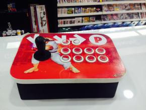 Foto Controle Arcade Estilo Fliperama Para Pc / PS2 / PS3 (Seminovo)