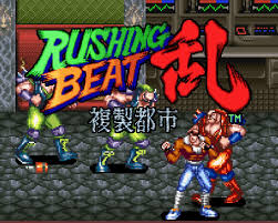 Foto Rushing Beat (Seminovo) Super Nintendo