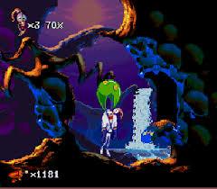 Foto EarthWorm Jim 2 (Seminovo) Super Nintendo
