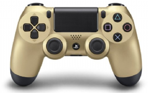 Foto Controle Sony Playstation 4 - Dual Shock 4 - Gold Edition
