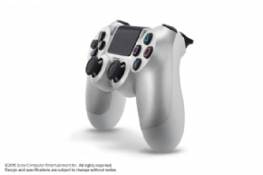 Foto Controle Sony Playstation 4 - Dual Shock 4 - Silver