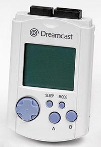 Foto VMU Dreamcast - Original (Seminovo)