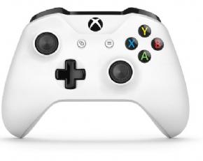 Foto Controle Microsoft ONE S Branco Bluetooth P2 Fone P2 XBOX ONE