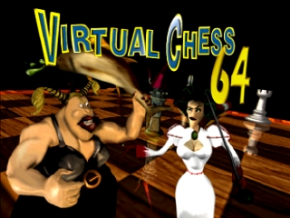 Foto Virtual Chess 64 (Seminovo) Nintendo 64
