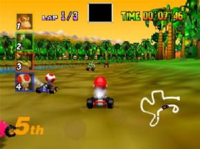 Foto Mario Kart 64 (Seminovo) Nintendo 64