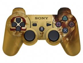 Foto Controle Dual Shock 3 - Edição Limitada God of War - ORIGINAL