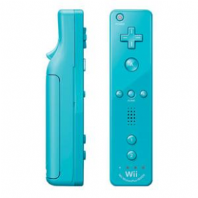 Foto Controle Remote Wii Motion Plus Inside Blue Wii U (Seminovo)