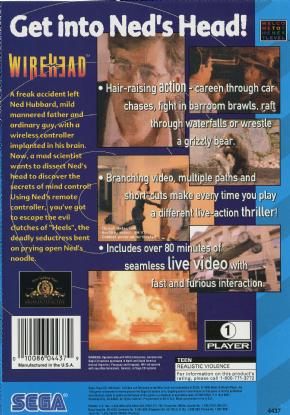 Foto WireHead (Seminovo) Sega CD