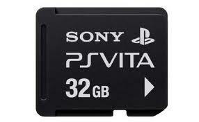 Foto Cartão Memória 32GB PsVita