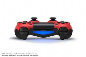 Foto Controle Sony Playstation 4 - Dual Shock 4 - Vermelho