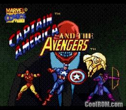 Foto Captain America (Seminovo) Super Nintendo