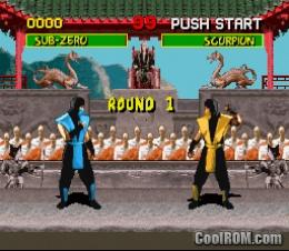 Foto Mortal Kombat (Seminovo) Super Nintendo