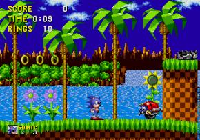 Foto Sonic The Hedghog (Seminovo) Mega Drive