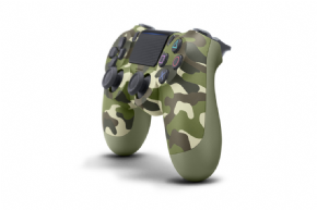 Foto Controle Sony Playstation 4 - Dual Shock 4 - Camouflage Green
