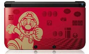 Foto Nintendo 3DS XL - Mario Bros 2 Edition Destravado Já com 20 Jogos (Seminovo)