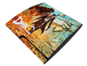 Foto Adesivo Devil May Cry PS3 SLIM