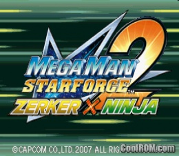 Foto Mega Man Star Force 2 Zerker X Ninja DS