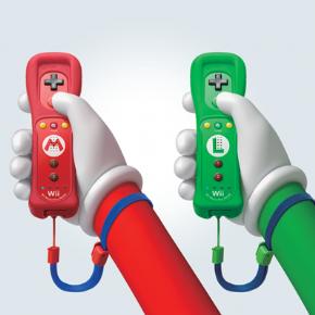 Foto Controle Remote Motion Plus Wii U - Luigi