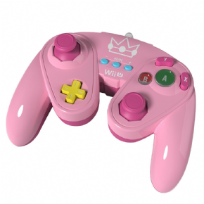 Foto Wired Fight Pad Wii U - Peach