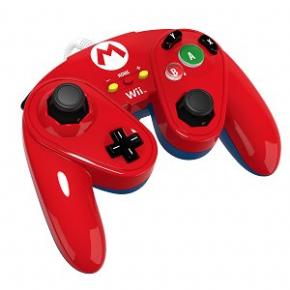 Foto Wired Fight Pad Wii U - Mario