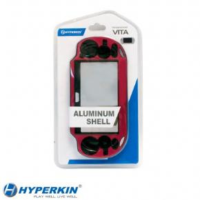 Foto Case Aluminium Para PSVita - Vemelha